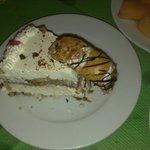 creamy cake and cannoli