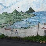 artwork on the roadside