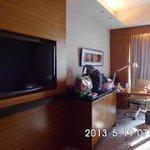 Flat TV & Working Desk