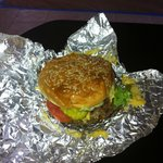 5 Guys double cheese burger: see that crazy guy singing on u tube