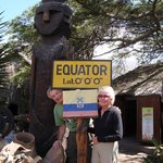 Inty Ñan Museum at the Equator line