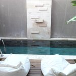Plunge Pool In the Suite Villa