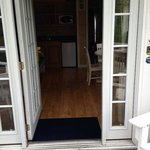 Entrace to cottage