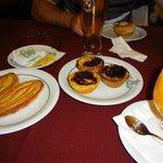 palmiere, pastel de nata