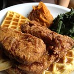 """""""chicken"""" and waffle"""