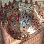 Jolie lustre artisanal