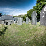The Ancient 11th Century Church to which we were The Rectory