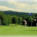 Golfplatz 150 Meter entfernt