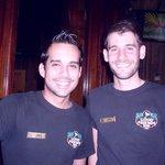 Jaye and Joey, barkeeps extraordinaire
