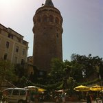 Galata tower - a couple of minutes walk from the Georges