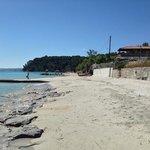 Kallithea beach.