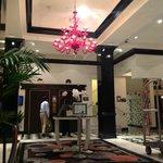 entryway Murano chandelier