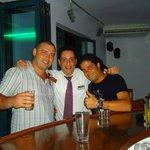 бармен Manthos и шеф анимации Dali