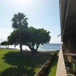 View of the ocean from our lanai