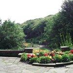 Italian garden view