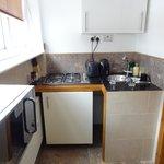 Angolo cucina studio apartment