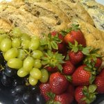 Fruit and Scone Platter