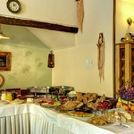 greek breafast in buffet