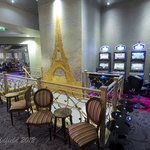 Seating area overlooking the Bar and Gaming Floor