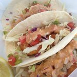 Lucky Dog Diner ~ Fabulous Fish Tacos!