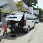 Land transfer from Boracay Airport, Caticlan