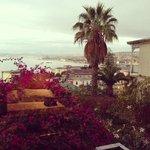 Bahía de Valparaíso desde la ventana