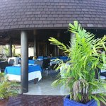 Main Fale - Sunday Morning, Ready for Breakfast Guests!!