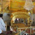 inside the Darbar Sahib