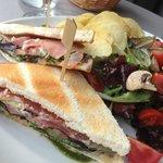 Club Sandwich Saumon ! UN RÉGAL !