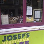 Josef's cafe in Funky Art Town Bury St Edmunds