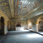 le Durbar hall, salle de réception du rawal, l'ancien raja