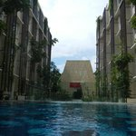 Ananta Legian Lobby Dome View from the Pool