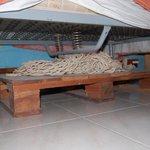 Pedana con amaca sotto il letto!