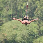 Bungee Jumping into the Nile 145ft