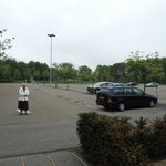 parkeringsplads, ingen vetaling ved overnatning