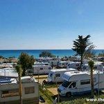 La Bella Vista has 144 beach front super pitches