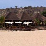 Cabo Ledo beach main restaurant