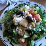 Delicious Greek side salad