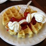 Waffles, Part of Complimentary Breakfast