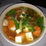 Tom Yum Soup (Hot and Sour) with Tofu