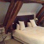 Le lit de la chambre 10 prestige