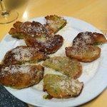 beignets de courgette