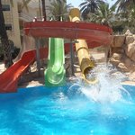 slide pool at other hotel