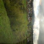 Views of mountains in Switzerland