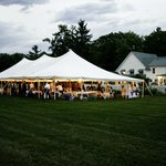 your tent wedding