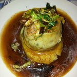 Steak & Kidney Pudding with mash and lashings of gravy