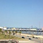 View of Pleasure Pier from room