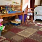 Kids Area and Free WiFi