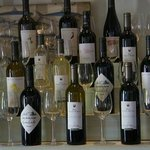 Excellent selection of local wines