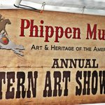 Show banner for the Western Art Show